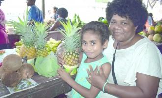 Grandmother Sells At Market To Help Her Grandchildren