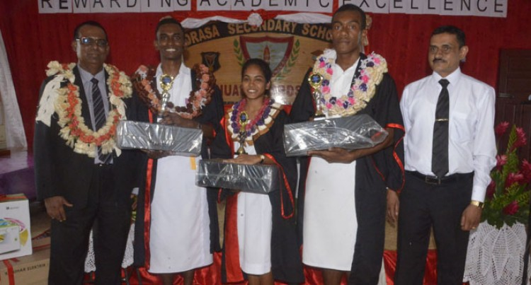 Three Share Principal's Award For Outstanding Conduct