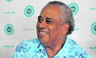 Unity Fiji Adopts Open Door Policy For Partnerships with Other Parties