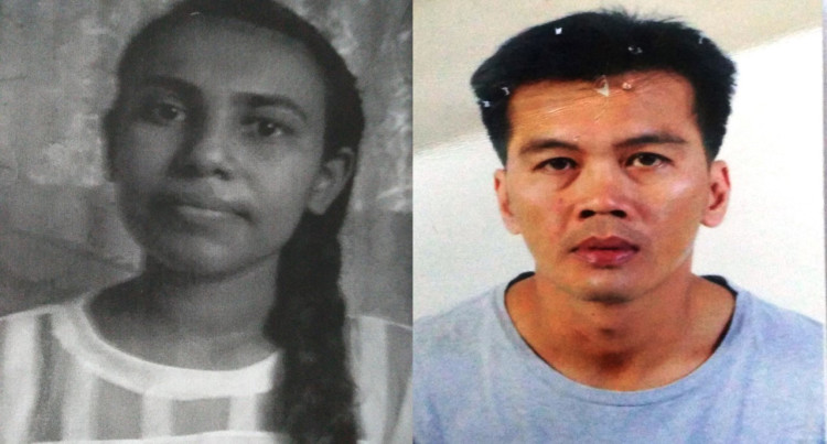 MISSING PERSON:  Shahista Rukshar Shaheem And Crisanto Cruz Lacanilao