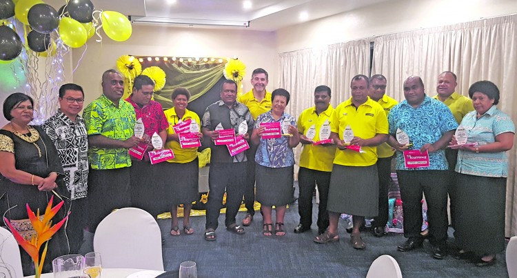 Western Union celebrates Year's Success With Post Fiji