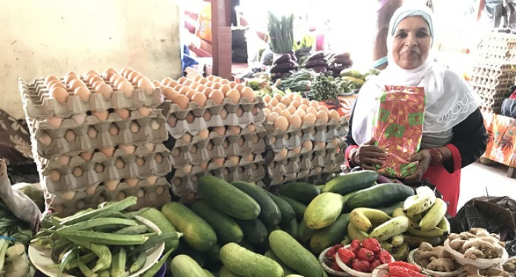 Widow, 62, Overjoyed In Winning Labasa Market Best Stall Award