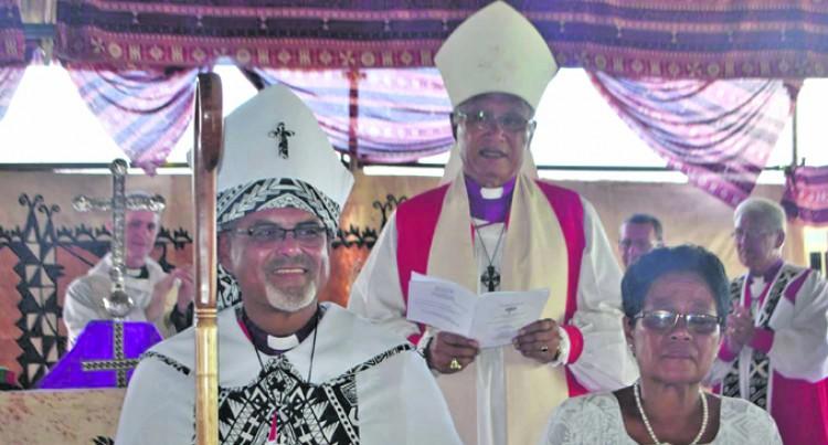 Archbishop Praises First Bishop of Vanua Levu
