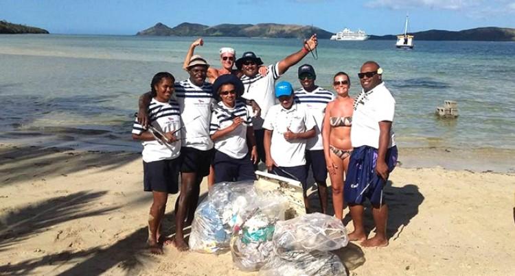 Taking care of Fiji's beautiful marine environment