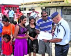 Police Commissioner Meets People In Town