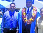 UNIVERSITY OF FIJI : Graduating Prosecutor Chetty Acknowledges Police Commissioner
