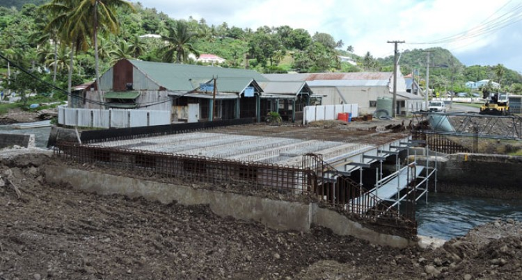 Weather Permitting, the Levuka Market Bridge will Open in March