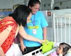 Minister, School Bring Children's Ward Christmas Surprise