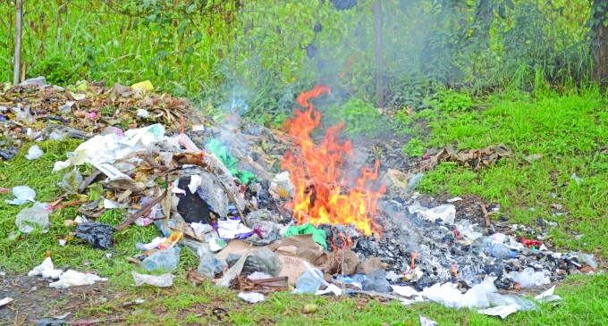 EDITORIAL: Rubbish Dump Fire A Major Health Risk