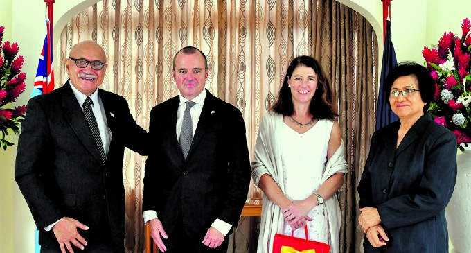 Australia's New Envoy Feakes Looking to Better Ties