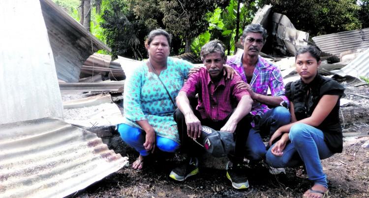 Unhappy Farmer Loses Family Home In Fire