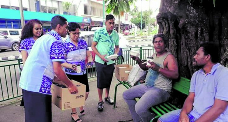 HFC Shares Love to the Needy