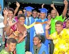 Galu Graduates Into 'Noble' Profession