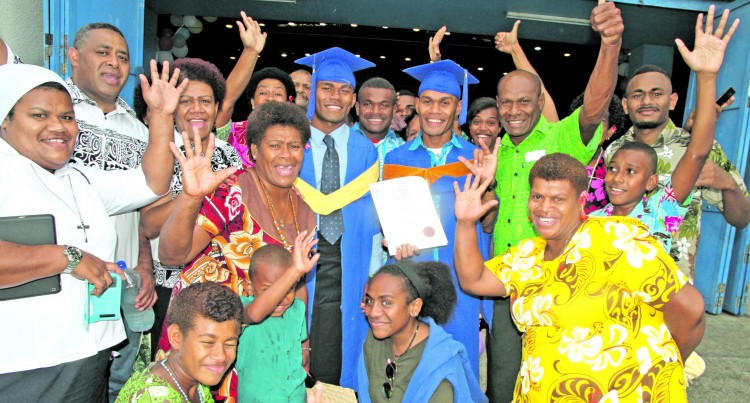 Galu Graduates Into 'Noble' Profession