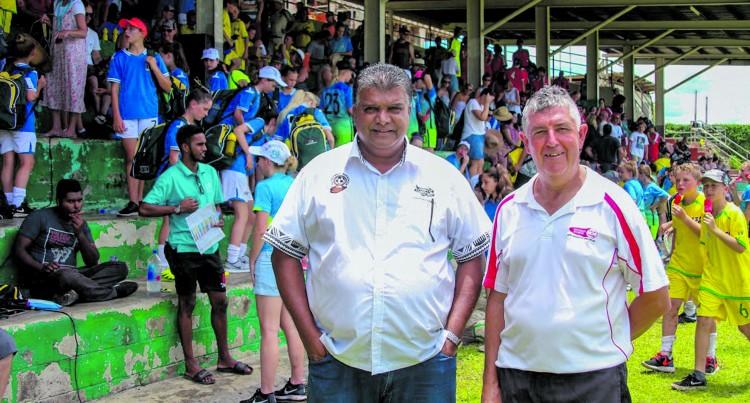 Fiji FA Chief Executive Officer Mohammed Yusuf on the Fiji Cup