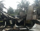 Lewavai Laments As Family  Home Is Razed To The Ground