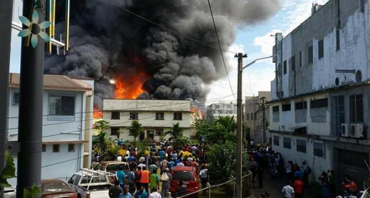Civil Works  Begun at Jack's Garment Factory
