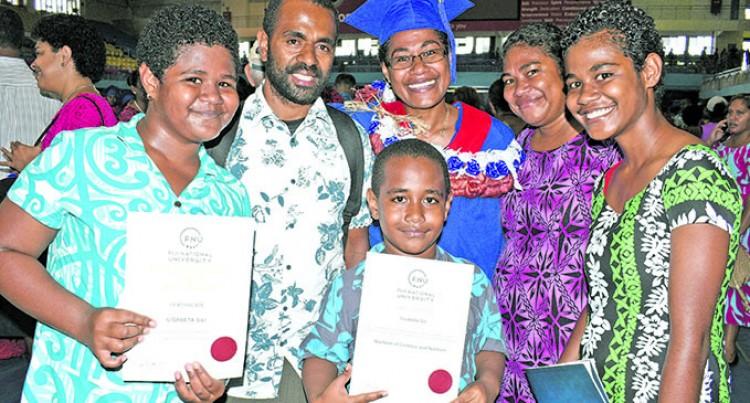 Mother Of Three Graduates Despite TC Winston Setback