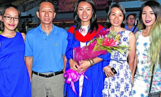 Daughter Is First In family To Earn College Degree