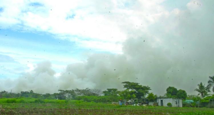 Fire At Vunato Dump Still Burning