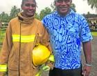 Firefighter Kalara Follows Father's Footsteps