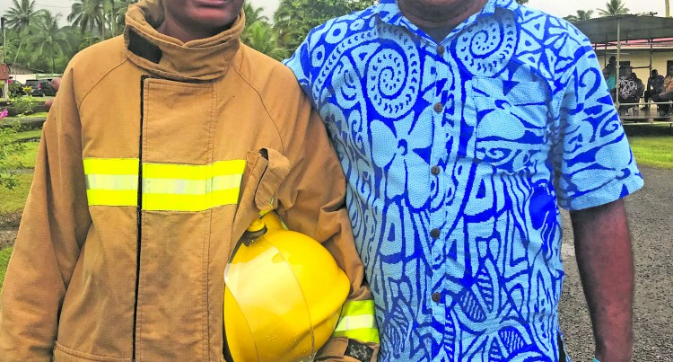 Firefighter Kalara Follows Father's Footsteps
