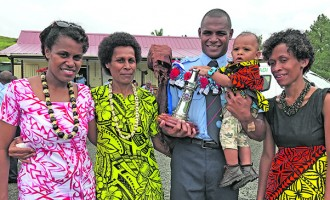 Best Drill Award Winner Saiasi Sigawale Inspired By Late Father