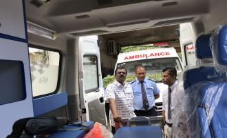 Ambulances To Assist In Crises