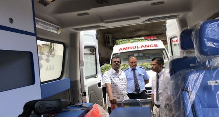 Ambulances To Assist In Crises