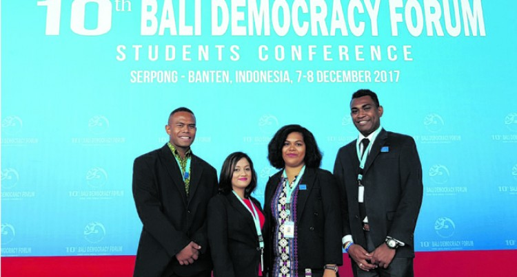 Four Fijians Learn From Bali Democracy Forum
