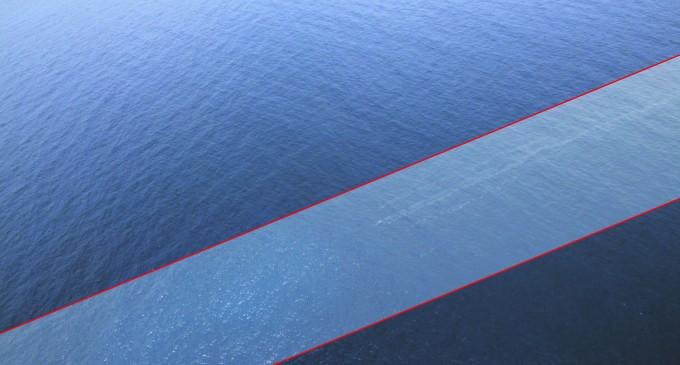 Oil Leak  Detected From Where Kaiwai Sank