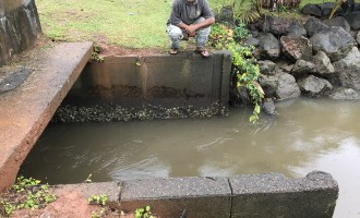 Karan Sends Out Team To Assess Floodgate In Navua Waterway