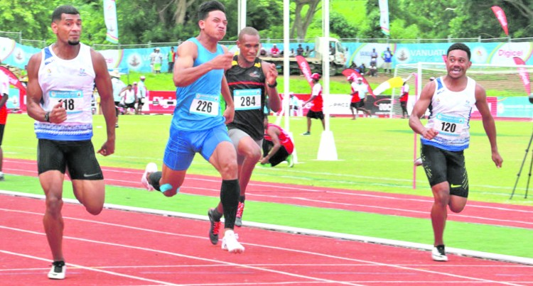 Team Fiji Appeals 100m Gold