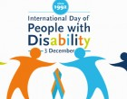 Today: International Day Of  Persons With Disabilities