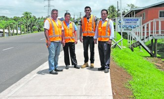 CONSTRUCTION: Footpath Increases Safety For Pedestrians In Cunningham