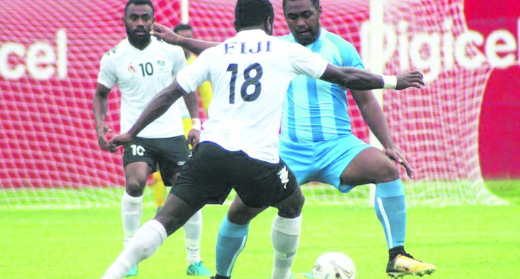 VICTORIES FOR FIJIAN FOOTBALLERS ON OPENING DAY AT PACIFIC MINI GAMES