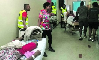 Abdul Khan Thanks Officers for Helping Evacuate Patients to Safety