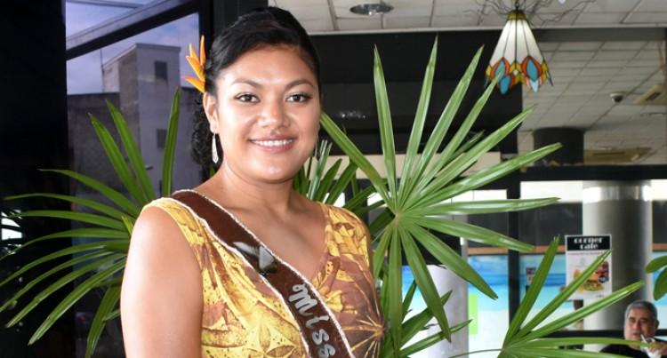 Miss Samoa Thanks Fiji Airways