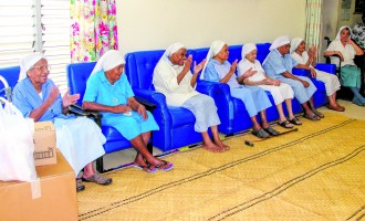 Groups Bring Smiles, Laughter to Retired Sisters at Our Lady of Nazareth Home