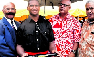 Youngest Police Recruit Receives Highest Award