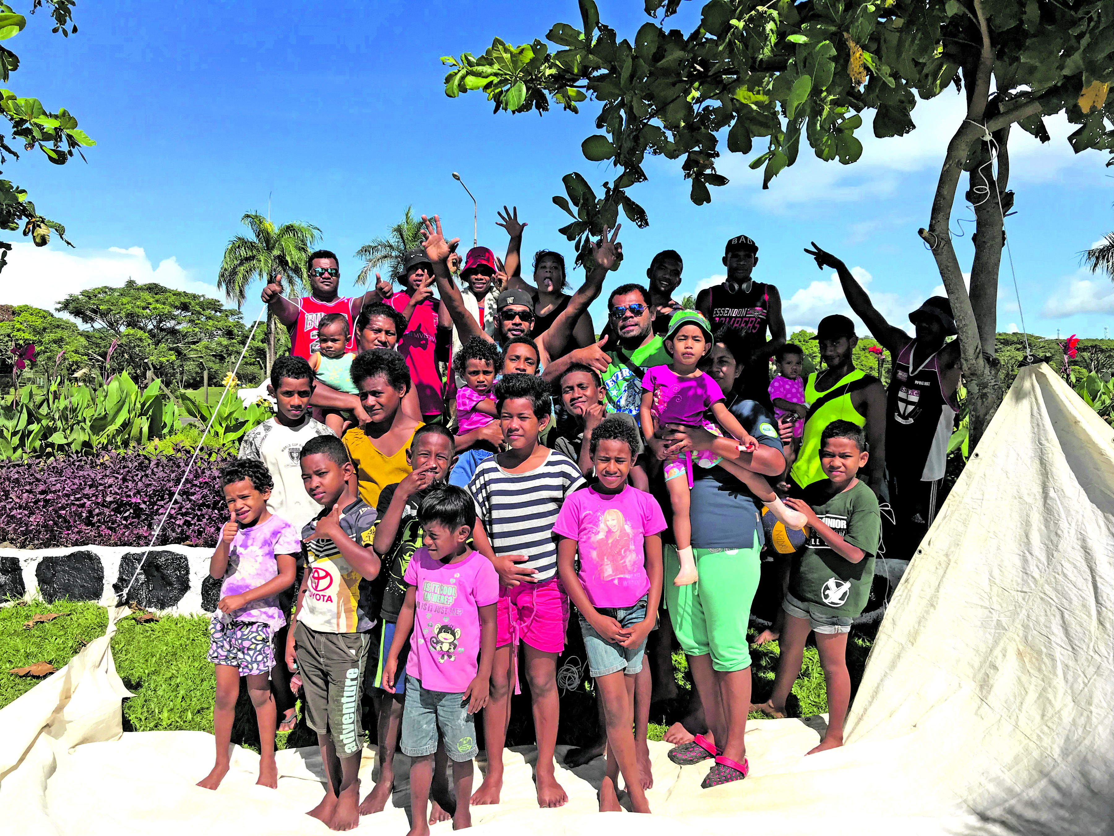 My Suva Picnic Park was the place to be for this Latianara family spending their Boxing Day holiday together on December 26, 2017.  Photo: Ronald Kumar
