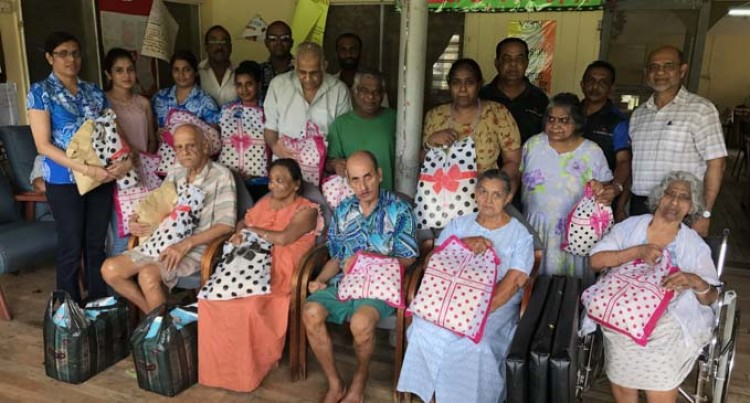 Hardware Firm Pampers Elderly With Gifts