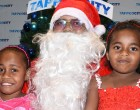 Raj Brings Joy To Children As TappooCity Santa