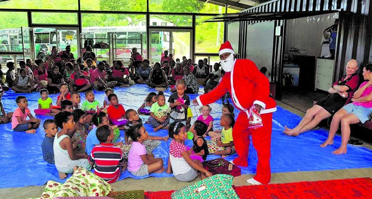 What Christmas Was Like At the Sigatoka River Safari
