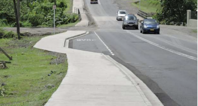 NEW FOOTPATH FOR CUNNINGHAM RESIDENTS