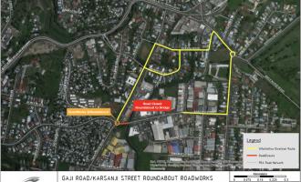 KARSANJI STREET OPENING DEFERRED TO DECEMBER 29