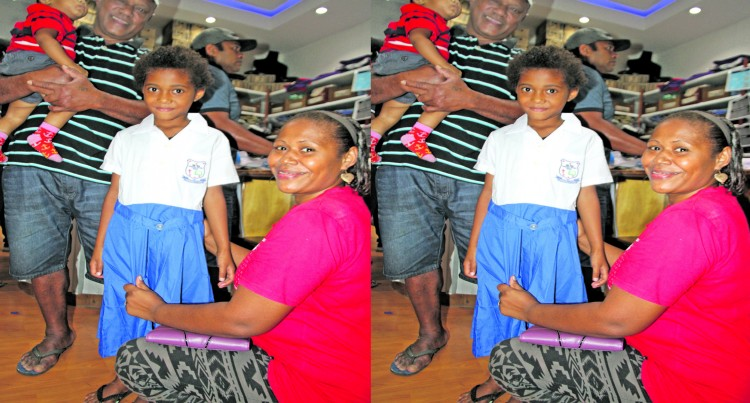 Tuima Family Makes  Early Start To Avoid Rush