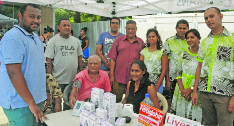 Pharmacy provides free medical screening for residents