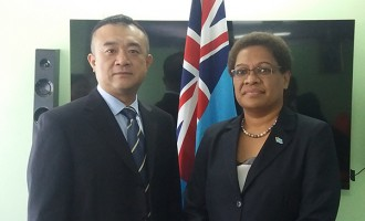 China hands over $40K Cheque for Disability Aid