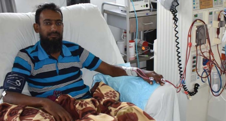 84 Kidney Patients  Get Free Dialysis Treatment